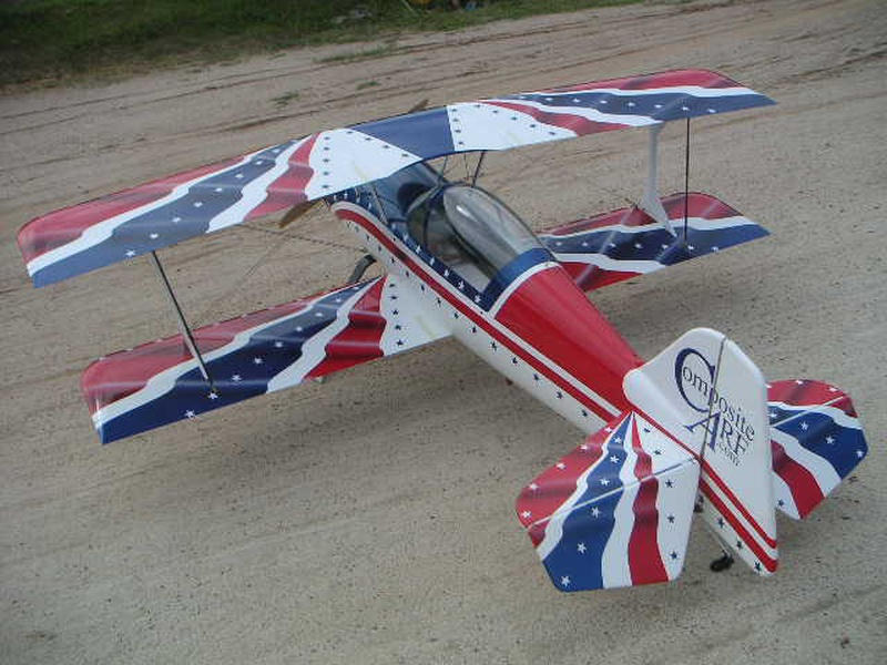 Pitts S12   2.7m Stars N Bars Scheme
